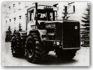 Ряжск. Трактор К-710. 1985 г.